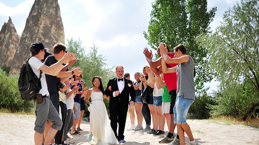 Cappadocia Valley Wedding