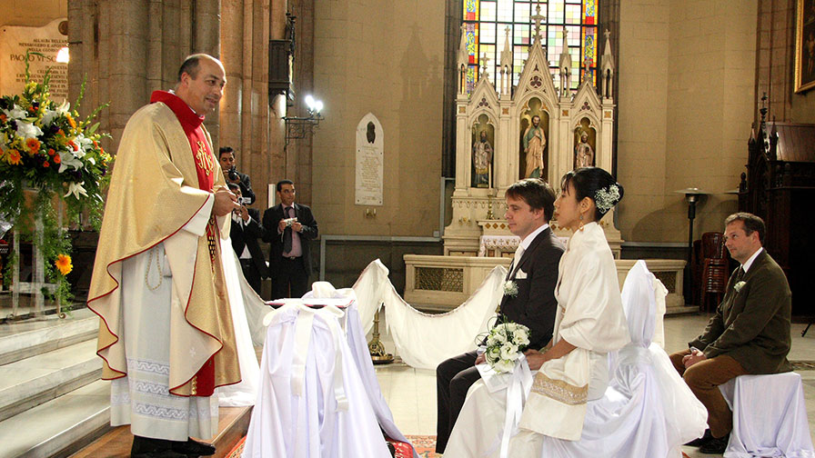 Church Wedding Ceremony in Turkey