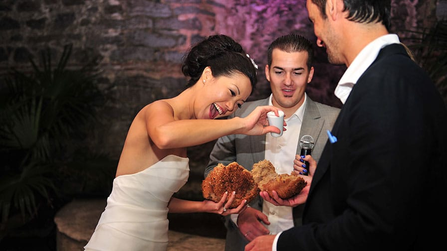 Istanbul Wedding Cake