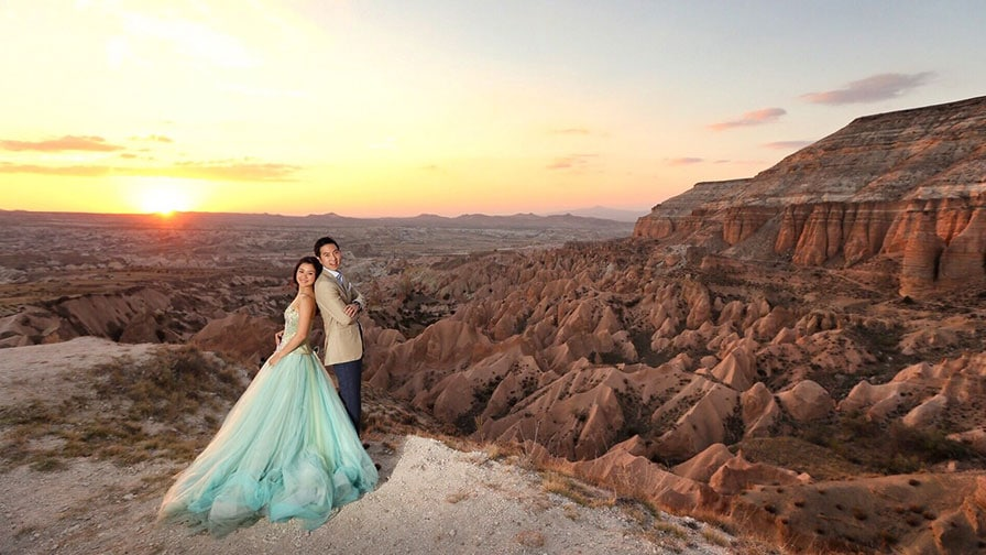 Pre Wedding Photo at Cappadocia Valley