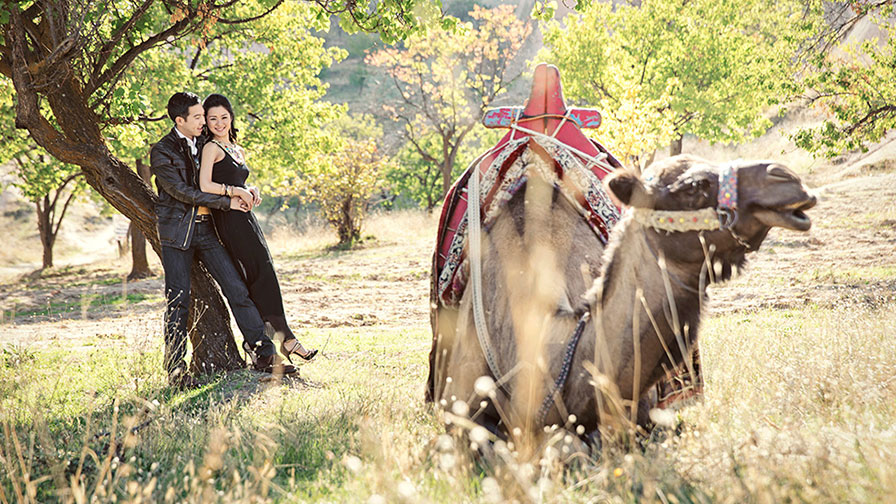 Pre Wedding Shooting in Cappadocia Valley