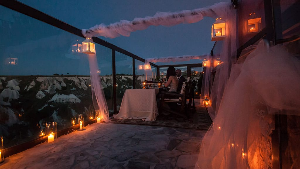 Private Dinner at Cappadocia Valley