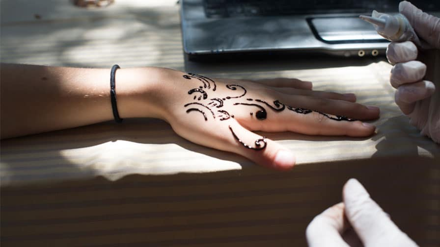 Bride Henna Tattoo