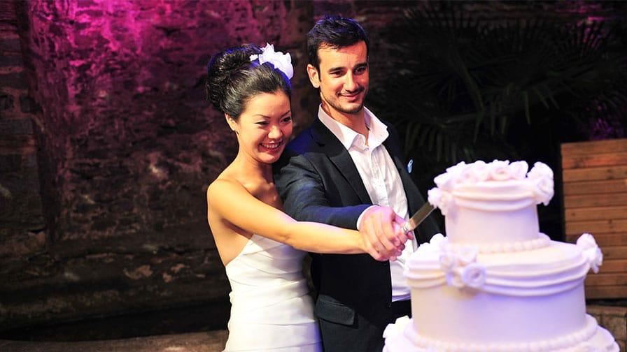 Wedding Cake Istanbul Turkey