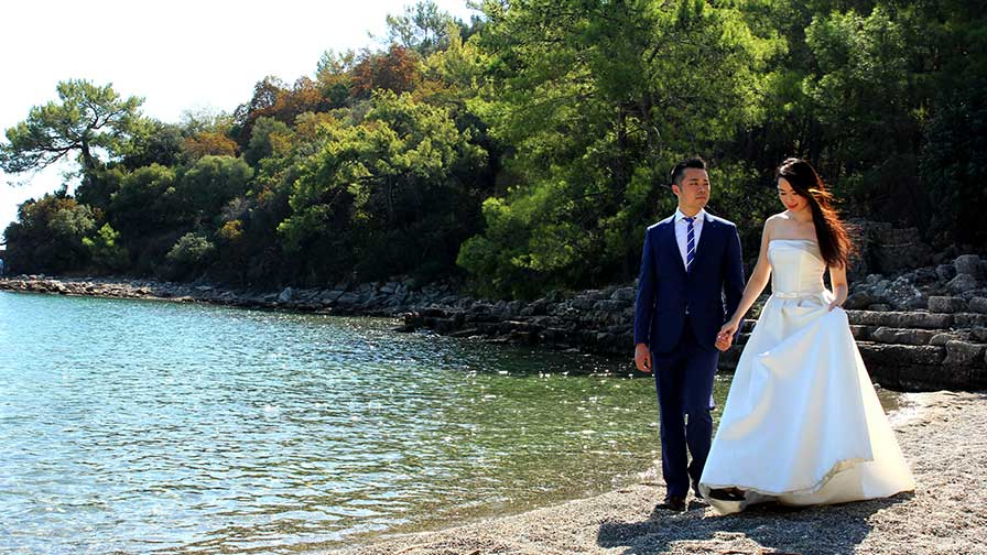 Phaselis Pre Wedding Photo