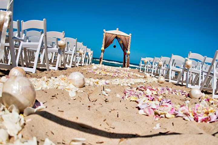 Beach Weddings Decorations Turkey