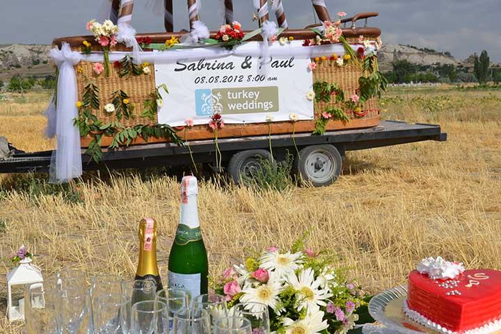 Cappadocia Air Balloon Weddings