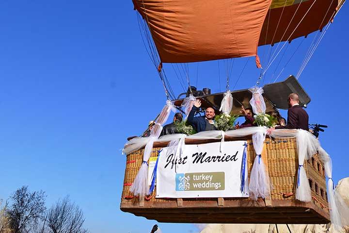 Cappadocia Balloon Weddings
