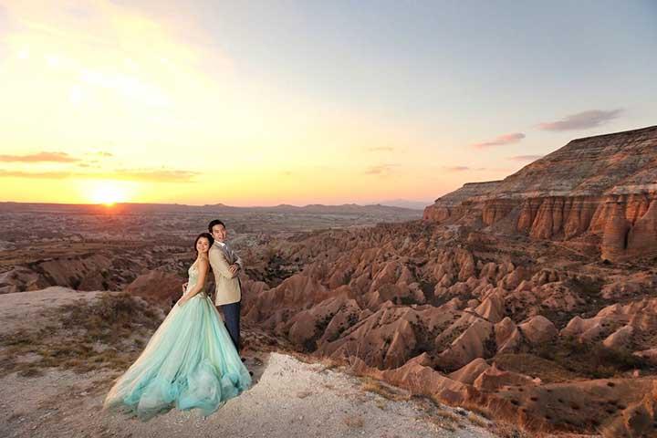 Cappadocia Wedding Sunset