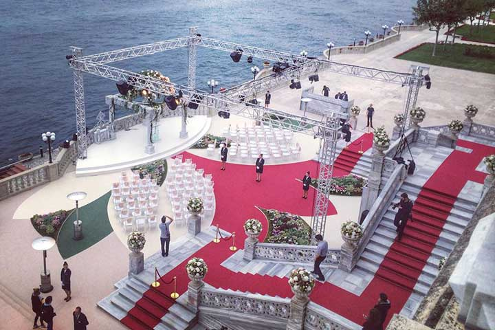 Istanbul Ciragan Palace Weddings