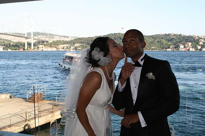 Istanbul Wedding Bosphorus Bridge