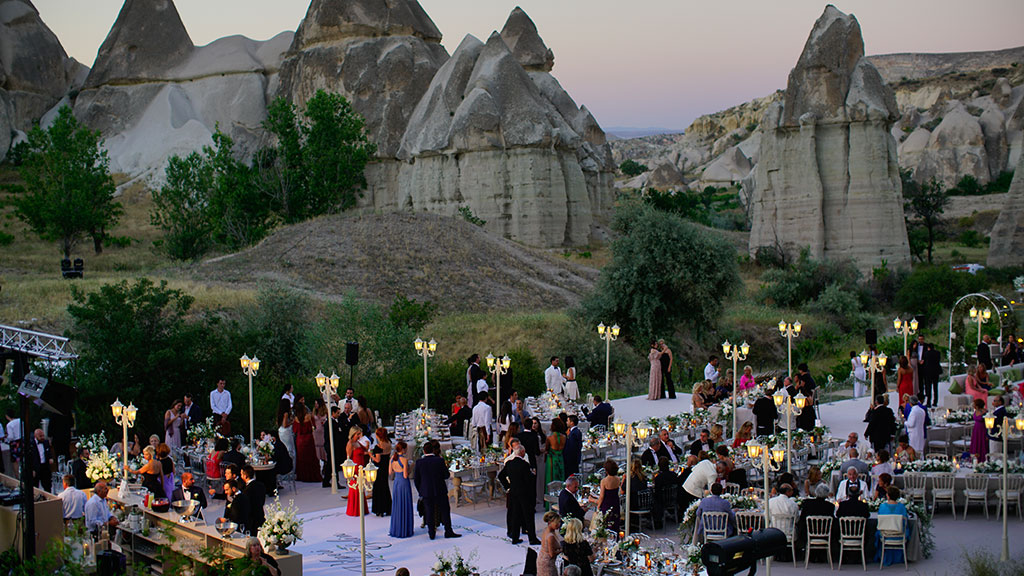 Love Valley Cappadocia Weddings Guests