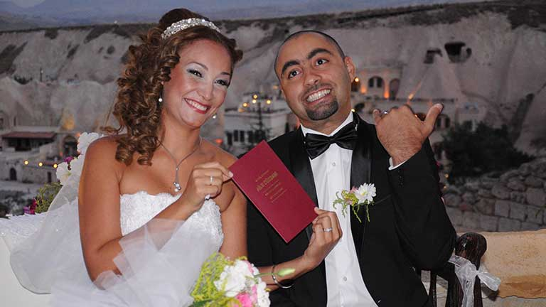 Express Wedding Package in Cappadocia for International Marriage Certificate