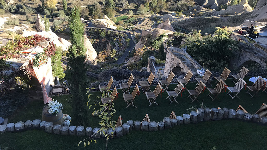 Cappadocia Rustic Wedding Venue Outdoor