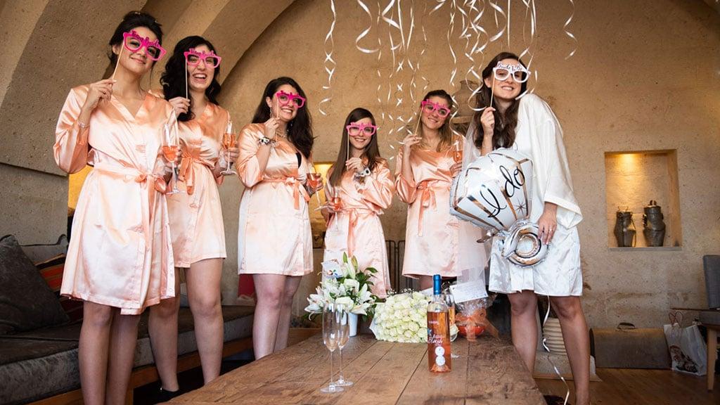 Cappadocia Wedding Ezgi Bridesmaids