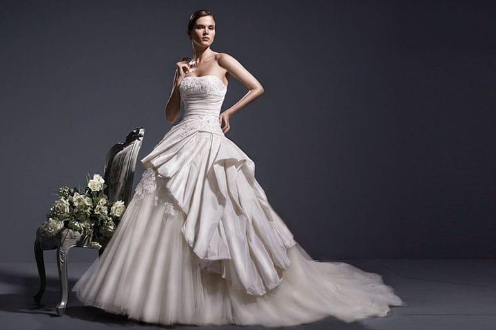 Ankara Bridal Gown